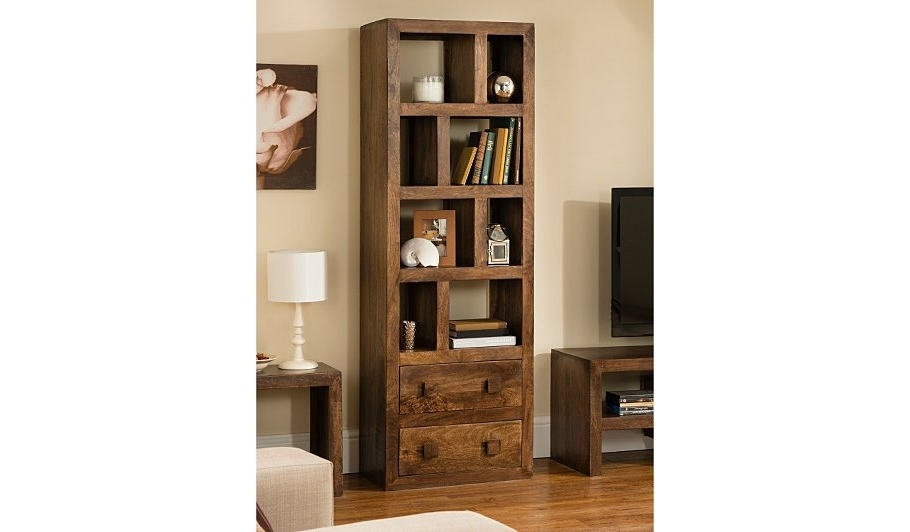 Tall Bookcases Pertaining To Well Known Bookcases Ideas: Bookcases And Shelving Units Oak And Tall Glass (View 10 of 15)