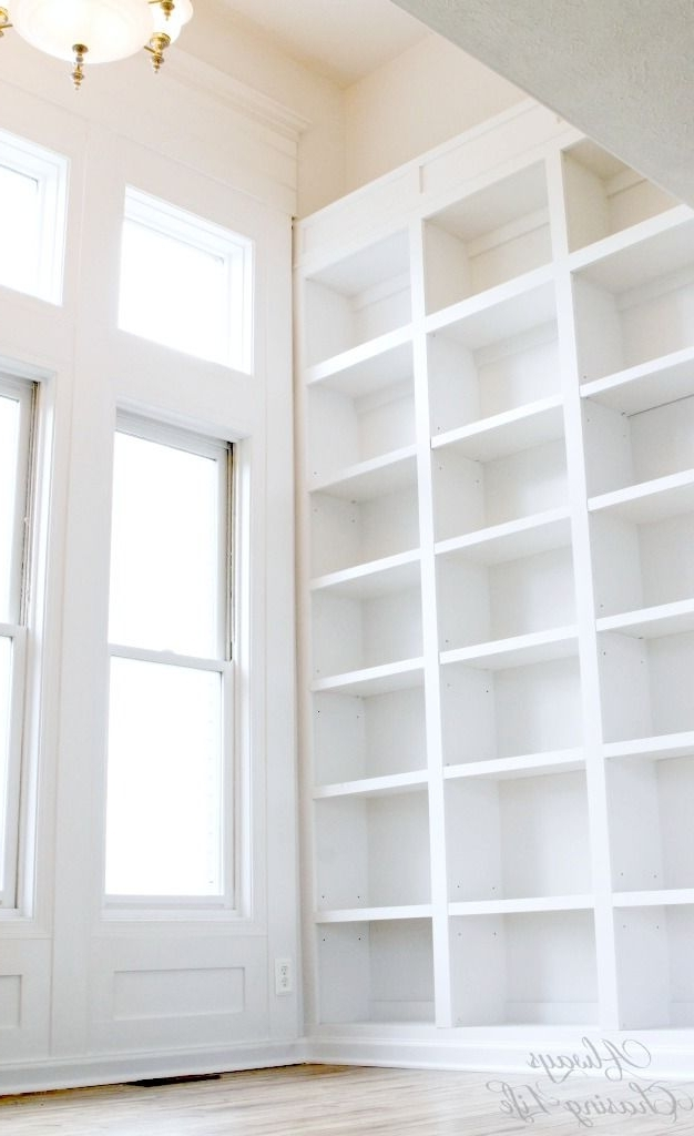 Tall White Bookcases Pertaining To Favorite Bold Design Tall Book Shelves Astonishing Ideas Best (View 12 of 15)