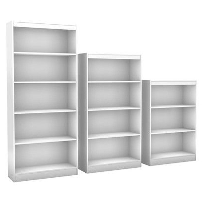 Target Bookcases Throughout Most Current Target Shelves White Carson Horizontal Bookcase With Adjustable (View 10 of 15)