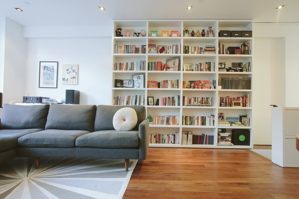 The Idea For The Modification Living Room Bookcase (View 15 of 15)
