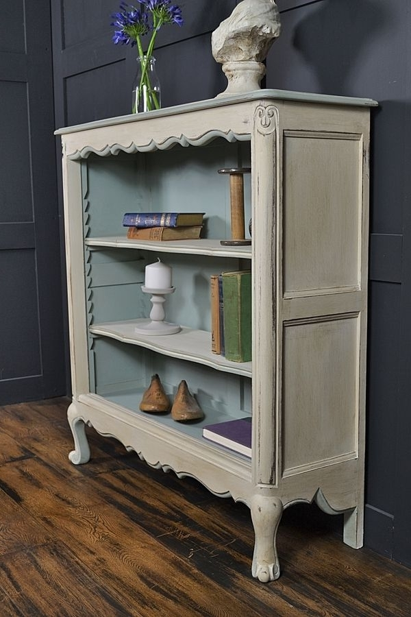 The Regarding Popular Shabby Chic Bookcases (View 13 of 15)