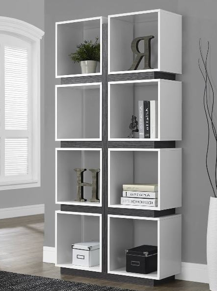 Top 7 White Bookcases For Your Home Office – Cute Furniture With Trendy Monarch Bookcases (View 11 of 15)