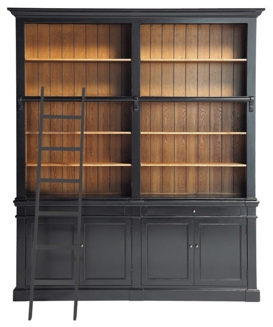 Traditional Bookcases Pertaining To Preferred Bookcases And Cabinets, Traditional Wall Bookcase Versailles (View 15 of 15)
