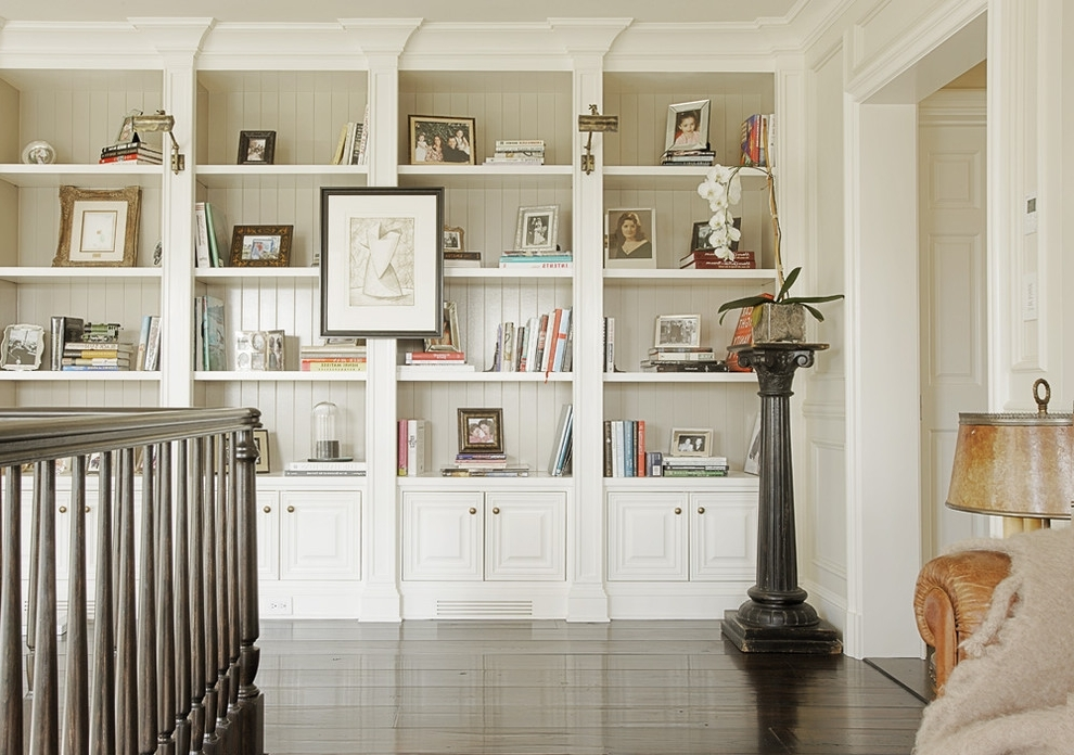 Traditional Bookshelves Regarding Favorite Phenomenal Hand Painted Bookcase Ideas Decorating Ideas Gallery In (View 14 of 15)