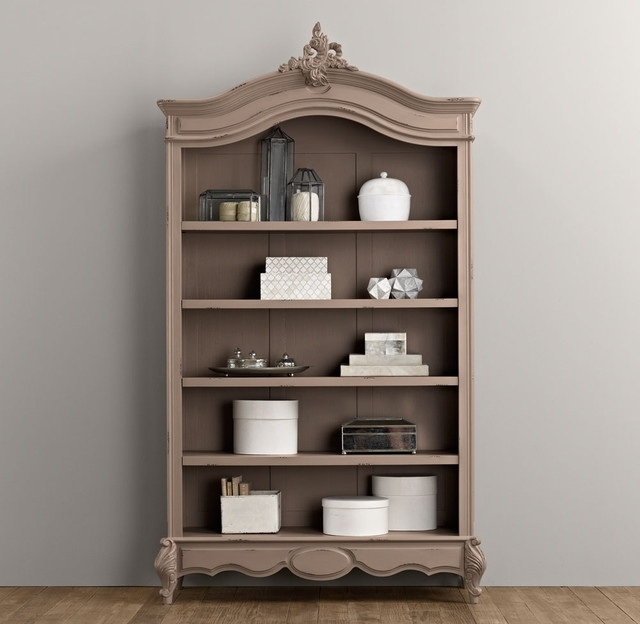 Traditional Bookshelves Regarding Preferred Marielle Bookcase Traditional Bookcases Restoration Hardware (View 9 of 15)
