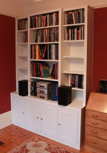 Traditional Bookshelves With Most Up To Date Fitted Alcove Cupboards And Bookshelves, Bespoke Cabinets (View 13 of 15)