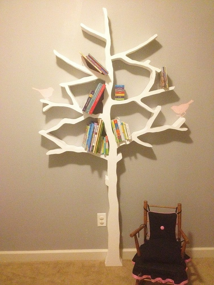Tree Bookcases In Popular Tree Bookcase » Gadget Flow (View 11 of 15)
