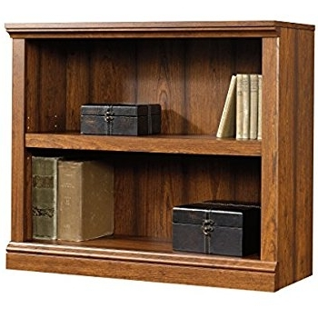 Trendy 2 Shelf Bookcases Intended For Amazon: Sauder 2 Shelf Bookcase, Washington Cherry: Kitchen (View 14 of 15)
