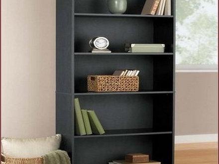 Trendy 43 Mainstays 5 Shelf Bookcase Alder, Mainstays 3 Shelf Standard Regarding Mainstays 3 Shelf Bookcases (View 11 of 15)