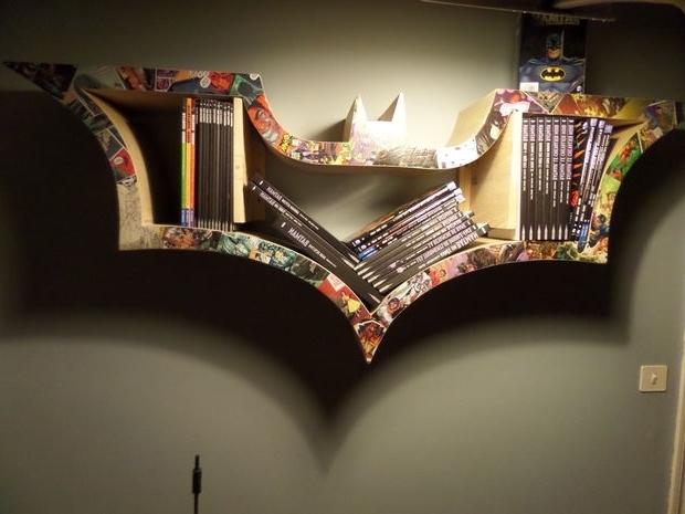 Trendy Batman Bookcases Throughout Ecco Non Ci Riuscirei Mai Ma È Bello Sapere Di Avere Questa Giuda (View 14 of 15)