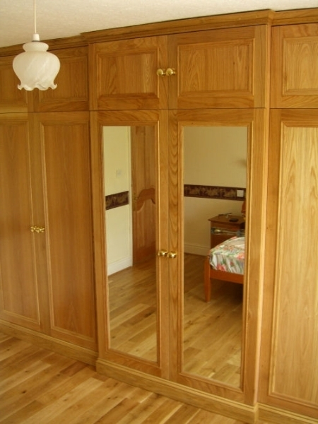 Trendy Bespoke Wooden Bedroom Furniture Built In Yorkshirefine Wood In Solid Wood Built In Wardrobes (View 9 of 15)