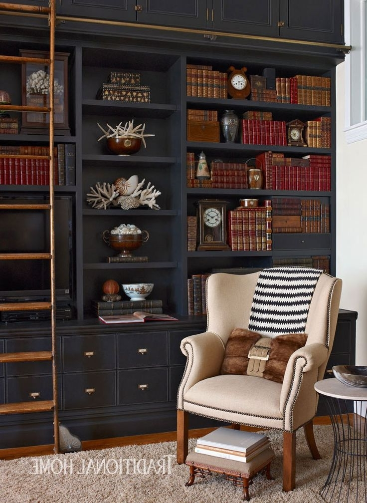 Trendy Black Bookcases Pertaining To Black Bookshelves Best 25 Bookcase Ideas On Pinterest Bookshelf (View 11 of 15)