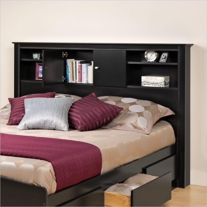 Trendy Bookcase Headboard Full – Iemg In Headboard Full Bookcases (View 14 of 15)