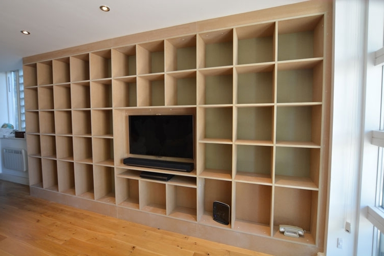 Trendy Bookcases Tvcabinets 5 Regarding Tv Bookcases (View 11 of 15)
