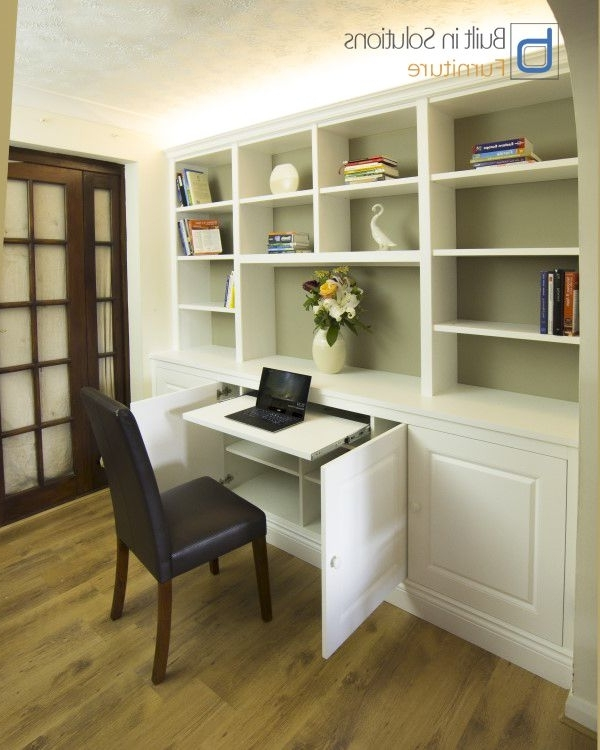Trendy Built In Study Furniture Intended For Fantastic Built In Study Desk Ideas With Best 20 Small Desk Areas (View 14 of 15)
