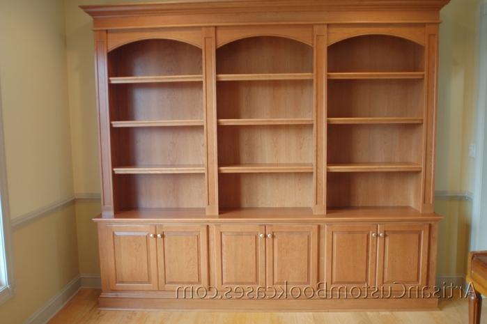 Trendy Custom Bookcases Pertaining To Custom Built Bookcases – Artisan Custom Bookcases (View 13 of 15)