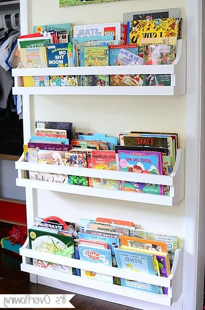 Trendy Diy Bookshelves For The Wall, Known Kids Rooms Or Playroom With Bookcases For Toddlers (View 13 of 15)