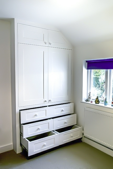 Trendy Fitted Alcove Wardrobes Inside Alcove Wardrobes Designs (Gallery 9 of 15)
