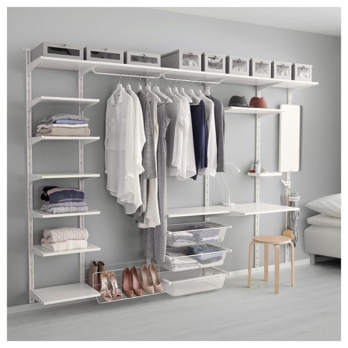Trendy Fitted Shelving Systems For Fitted Bedroom Furniture Closet Shelving Closet Organizers Baby (View 13 of 15)