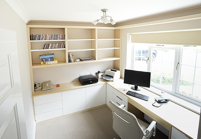 Trendy Fitted Study Furniture With Regard To Fitted Home Study Furniture (View 14 of 15)