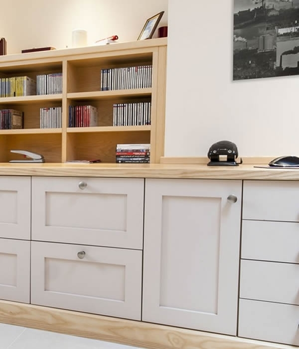 Trendy Fitted Study Furniture (View 6 of 15)