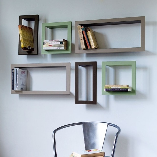 Trendy Guest Picks: Contemporary Bookcases And Shelving Intended For Wall Bookcases (View 10 of 15)