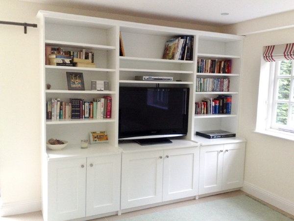 Trendy High Wycombe Carpenters & Joiners // Carpentry Portfolio With Regard To Bespoke Shelving (View 15 of 15)