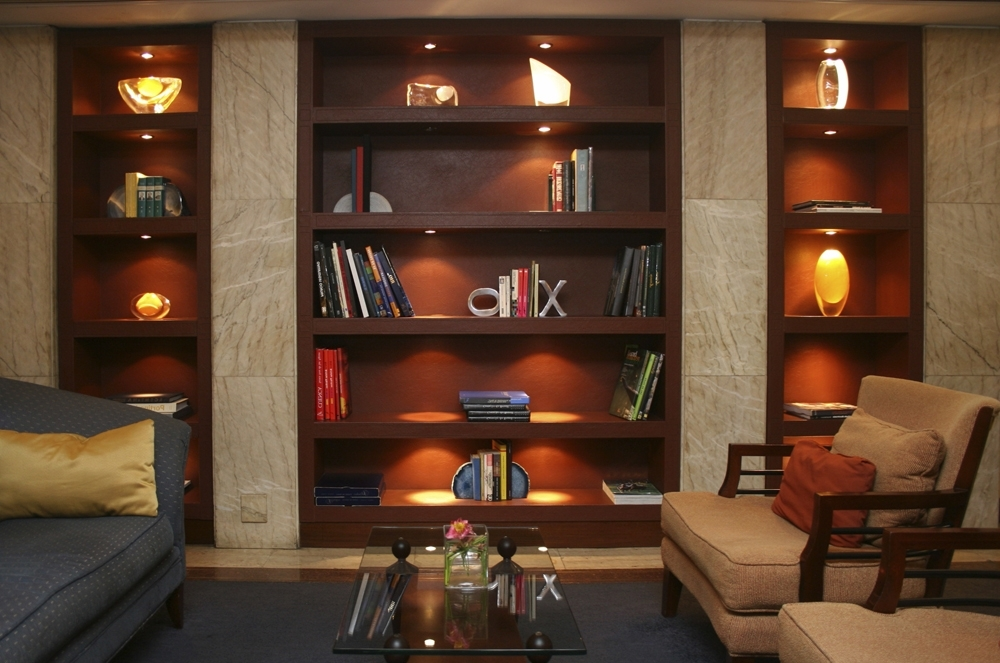 Trendy Lights For Bookcases Lighting Ideas For Bookshelves Bookshelf Within Bookcases Lighting (View 15 of 15)