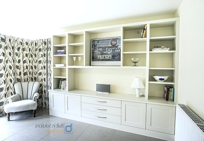 Trendy Living Room Fitted Cabinets Regarding Living Room (View 9 of 15)