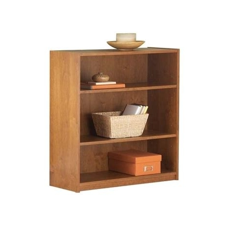 Trendy Mainstays 3 Shelf Bookcases Pertaining To Walmart Bookshelf – Mainstays 3 Shelf Bookcase, Alder: Other Home (View 12 of 15)