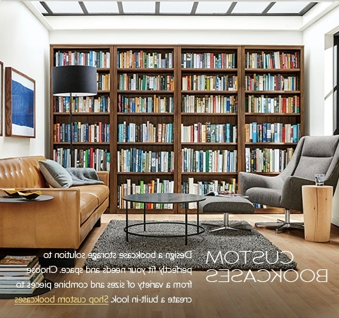 Trendy Modern Bookcases & Shelves – Modern Living Room Furniture – Room For Bookcases (View 15 of 15)