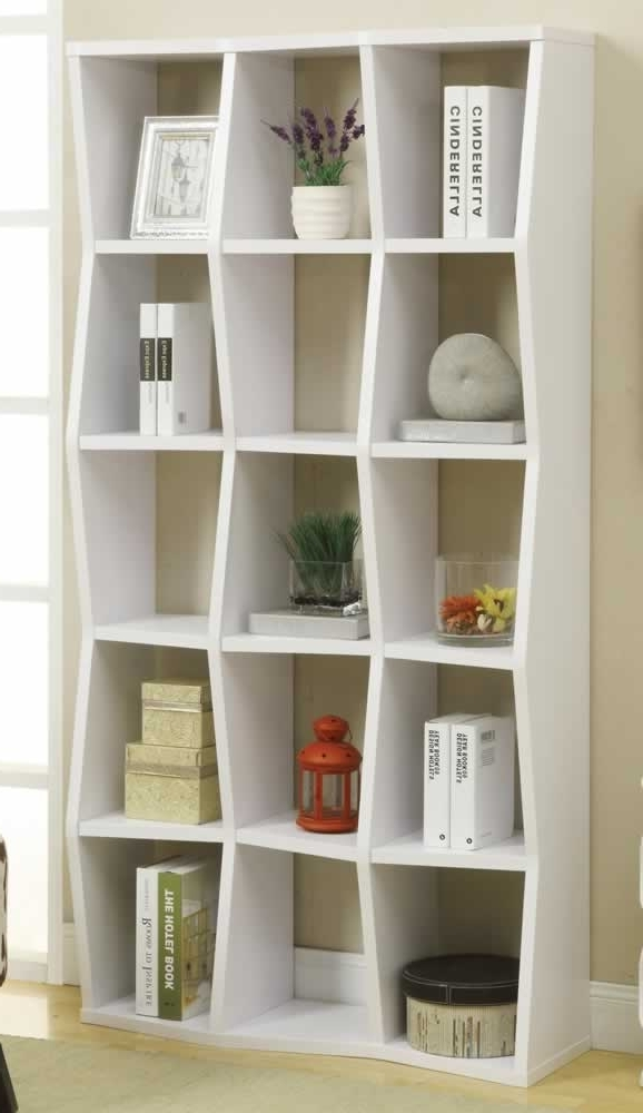 Trendy Modern Bookshelf To Bring Out The Book Worm In You Intended For Modern Bookcases (View 13 of 15)