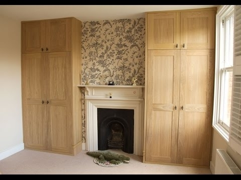 Trendy Oak Veneered Mdf Alcove Fitted Wardrobes – Youtube With Alcove Wardrobes Designs (View 14 of 15)