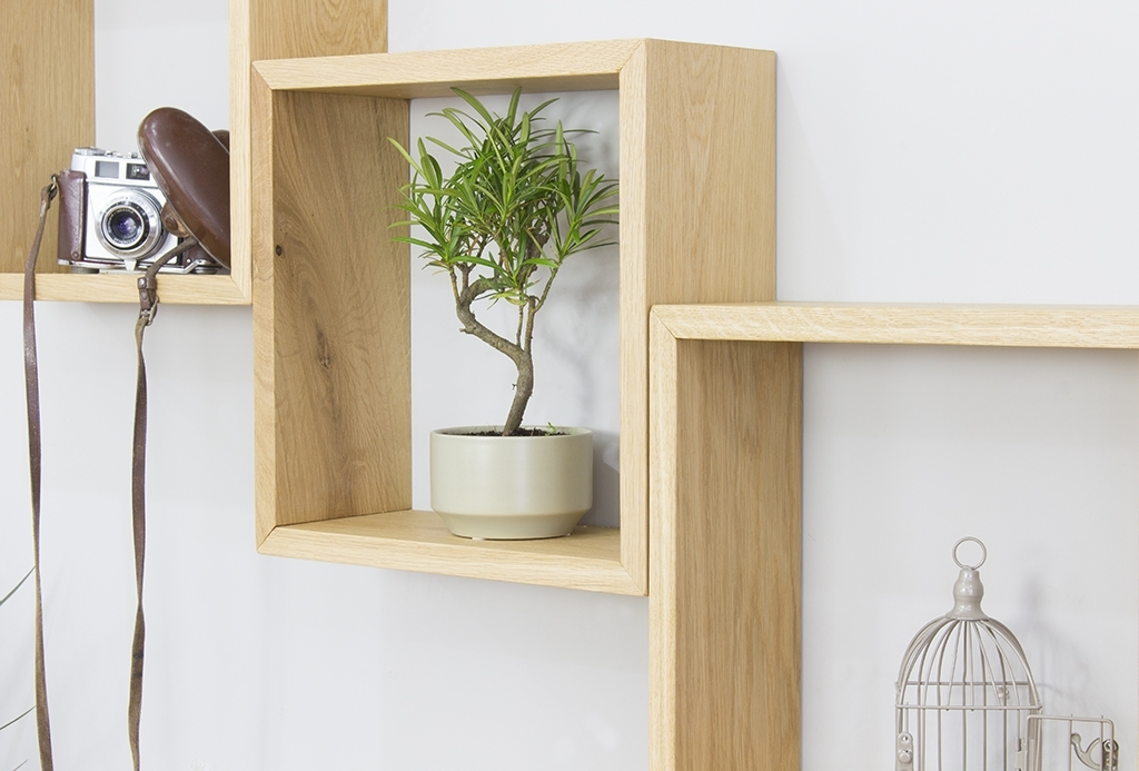 Trendy Oak Wall Shelves In Unusual Design Ideas Oak Wall Shelves Marvelous Baumhaus Mobel (View 15 of 15)