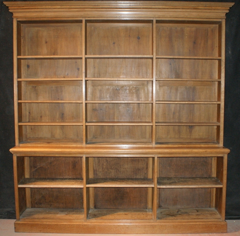 Trendy Open Library Bookcase – Antique Bookcases With Oak Library Bookcases (View 13 of 15)