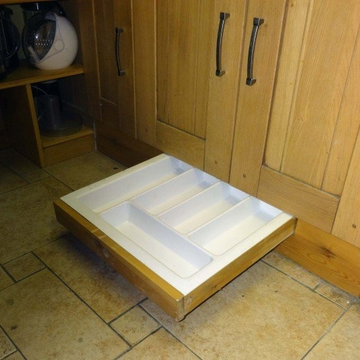Trendy Plinth Drawers In How To Make A Kitchen Plinth Drawer (View 8 of 15)