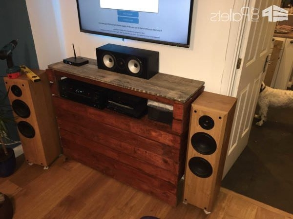 Trendy Radiator Cover Tv Stand Within Radiator Cover Doubled Up As An Entertainment Centre • 1001 Pallets (View 2 of 15)