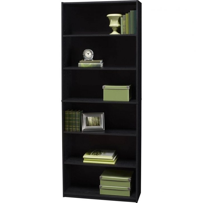 Trendy Shelf Bookcase 8Df8169A3A95 1 Mainstays Black Ebony Ash Walmart With Regard To 6 Shelf Bookcases (View 13 of 15)