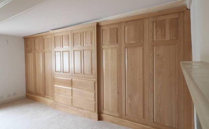 Trendy Solid Wood Built In Wardrobes With Solid Wood Wardrobes (View 10 of 15)