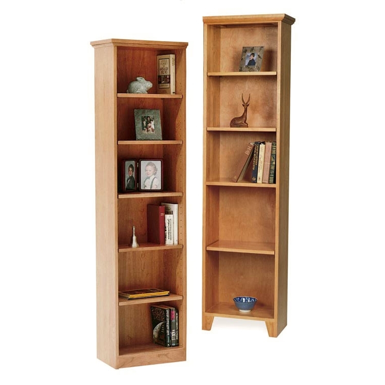 Trendy Tall Bookcases With Bookcases Ideas: Element Tall Narrow Five Shelf Bookcase Deals (View 12 of 15)