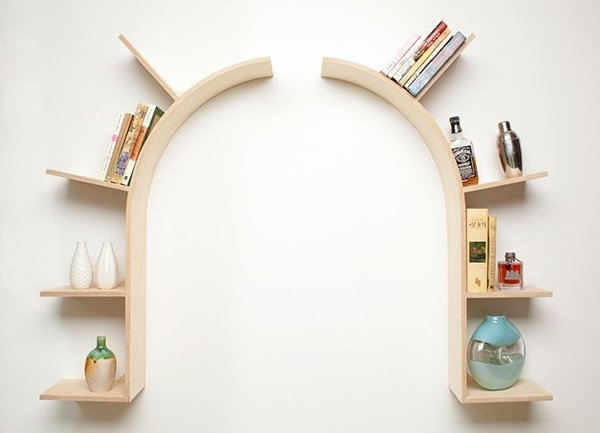 Trendy Wooden Wall Shelves Inside 15 Decorative Wooden Wall Shelves (View 6 of 15)