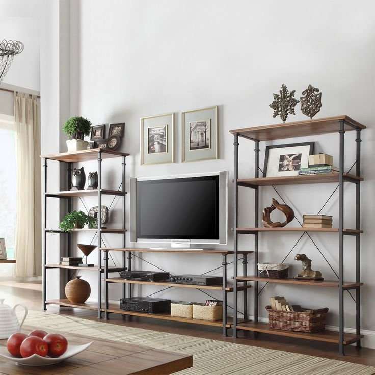 Tv And Bookcases Units Pertaining To 2017 Wall Units (View 9 of 15)