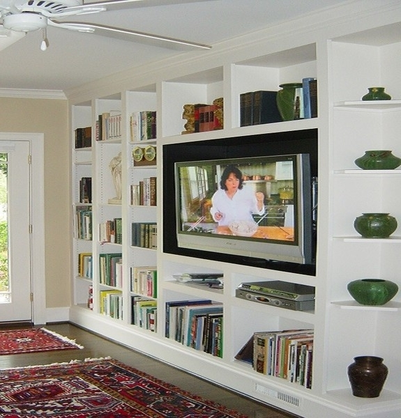 Tv And Bookcases Units Regarding Favorite Wall Units: Outstanding Wall Units Bookcases Library Wall Bookcase (View 10 of 15)