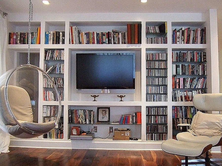 Tv Book Case Throughout Fashionable Wall Units: Custom Made Wall Units Sydney Inspirational Tv (View 14 of 15)