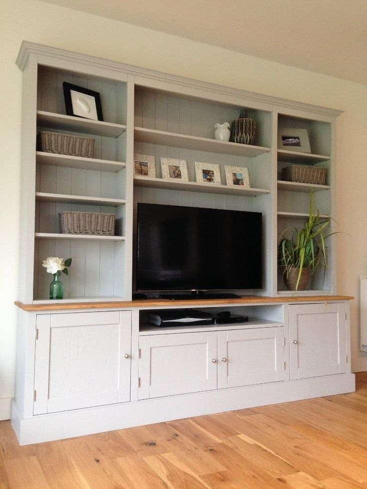 Tv Cabinet And Bookcases With Regard To Fashionable Best 25 Tv Bookcase Ideas On Pinterest Built In Tv Wall Unit With (View 12 of 15)
