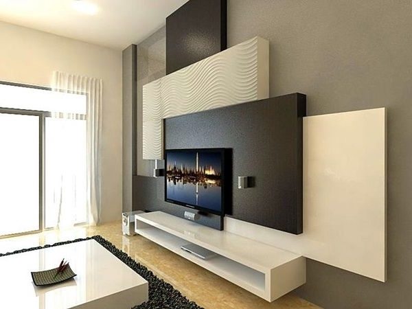 Tv Cabinets, Floating Throughout Most Recent Tv Wall Units (View 12 of 15)