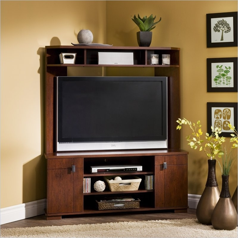 Tv Corner Shelf Unit With Regard To Favorite Corner Tv Stand I Like The Use Of The Wall Space To The Left (View 12 of 15)