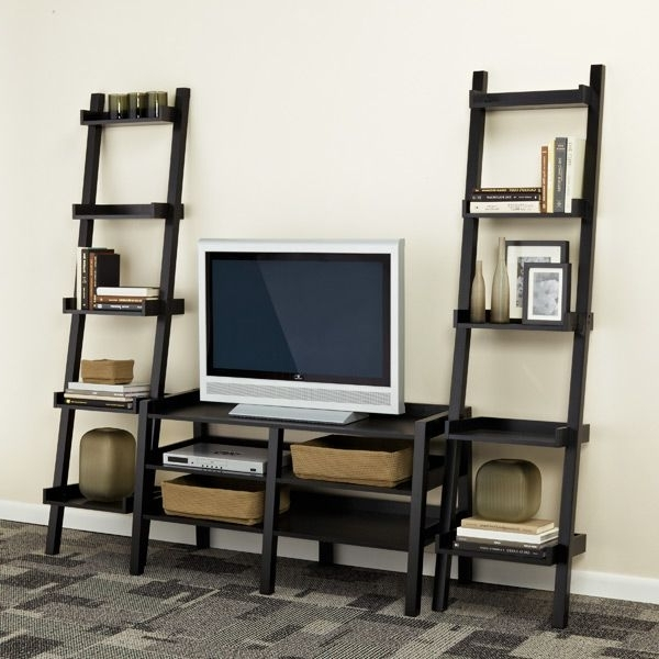 Tv Stand Bookcases Combo In Current Bookcases Ideas: Tv Stands Living Room Furniture Overstock (View 7 of 15)