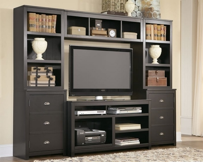 Tv Stand Bookcases Combo Regarding Best And Newest Amazing Bookcases Ideas Tv Stands Living Room Furniture Overstock (View 8 of 15)