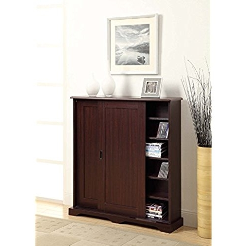 Tv Storage Units For Most Recent Tv Storage Unit With Doors: Amazon (View 7 of 15)
